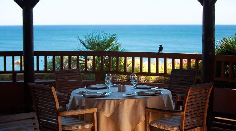 Hervorragender Blick für ein romantisches Abendessen in Elba Estepona