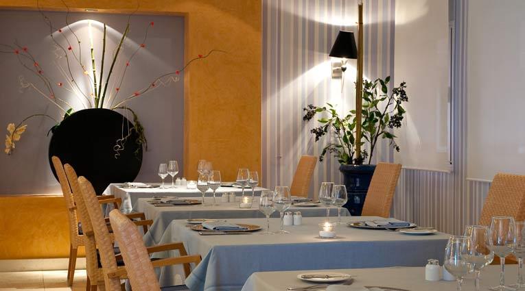 Exquisita gastronomia italiano francesa en hotel Elba Estepona