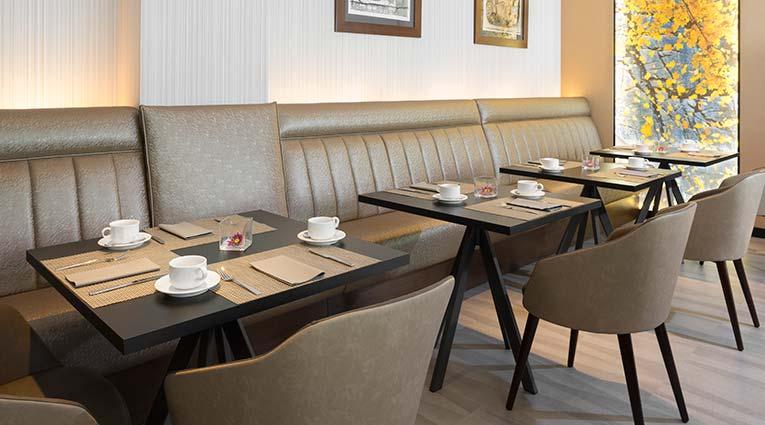 Mesas para el desayuno