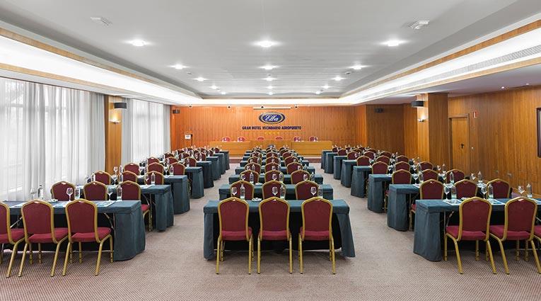 Vista salón congresos Hotel Elba Vecindario