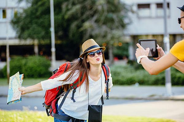 Turista en Gran Canaria