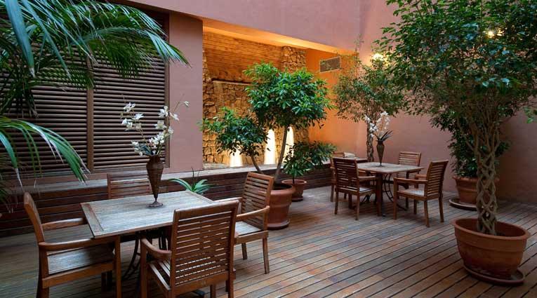 Terraza del Thalasso Spa Hotel Elba Estepona