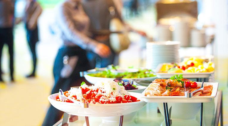 Buffet desayuno Hotel Vecindario Aeropuerto