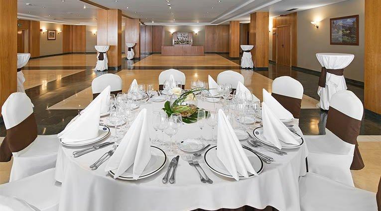 Mesa presidencial bodas Hotel Elba Vecindario Aeropuerto