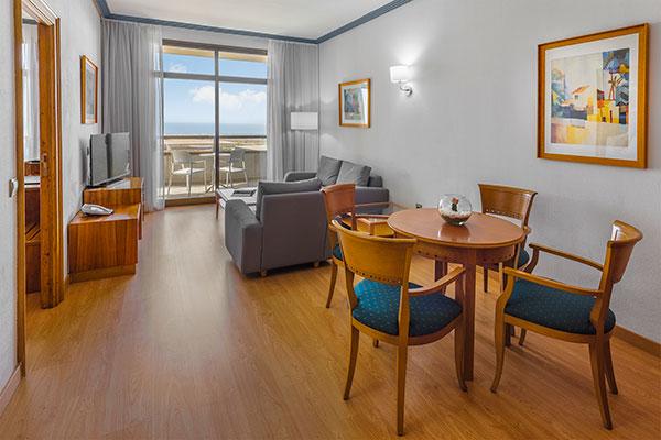 Sala de estar suite Elba Vecindario