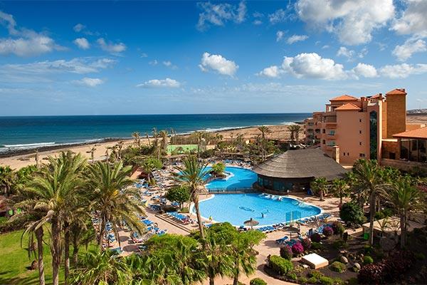 Vista aérea del hotel Elba Sara