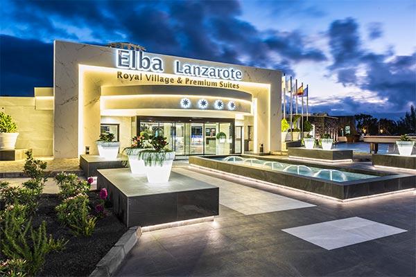 Fachada principal Elba Premium Lanzarote