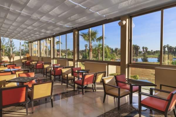 Vistas al Campo desde el Lobby Bar | Elba Costa Ballena
