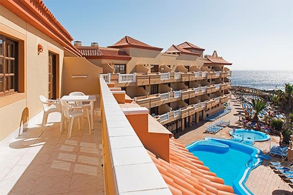 Vista al océano desde el balcón