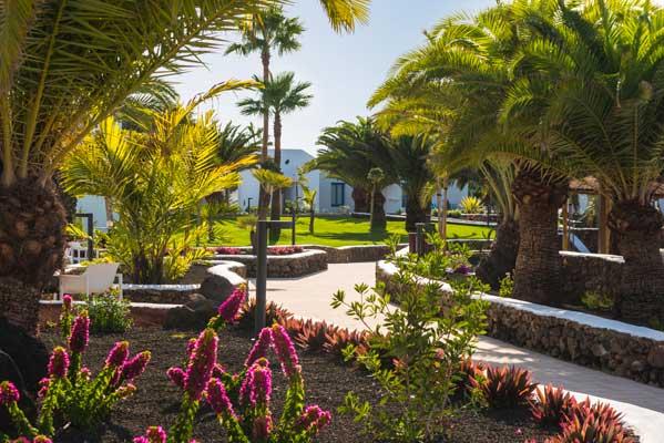 Jardines Exteriores del hotel Elba Lanzarote
