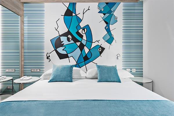 Diseño cabecero Suite