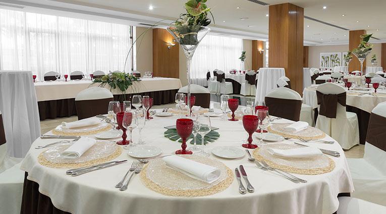 Vista salon bodas Hotel Elba Vecindario Aeropuerto