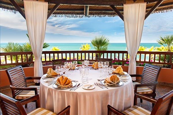 Preciosa vista desde el Restaurante del Hotel Elba Estepona