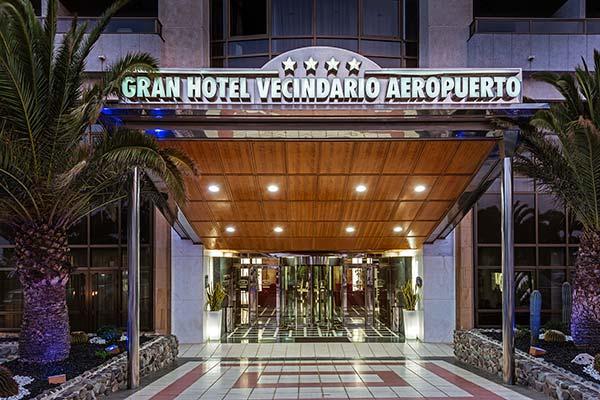 Entrada Hotel Elba Vecindario Aeropuerto