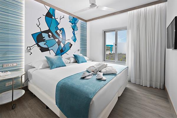 Vista de la suite Elba Premium Suites