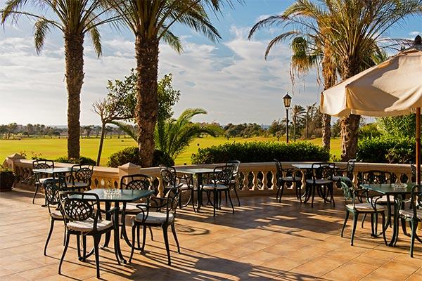 Terraza del Restaurante Hoyo 19