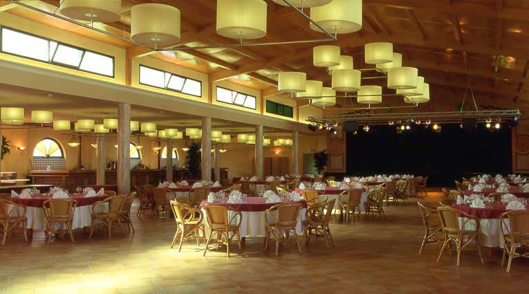 Vista del salón Elba