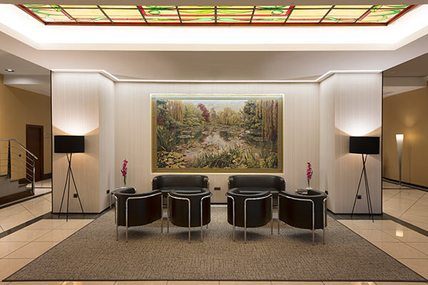 Lobby Hotel Elba Madrid