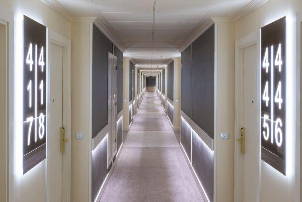 Hotel moderno y bien comunicado en Madrid