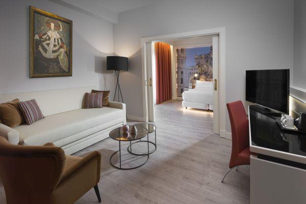 Suites que enamoran en el Hotel Elba Madrid
