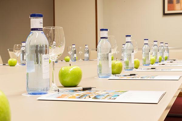 Detalle sala de reuniones
