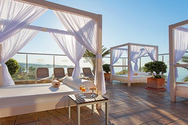 Zona de relax en Elba Estepona