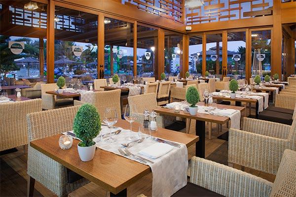 Vista del comedor restaurante La Brasserie