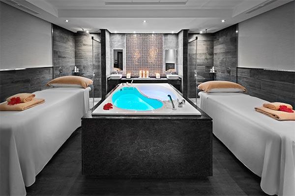 Cabina de masajes del spa