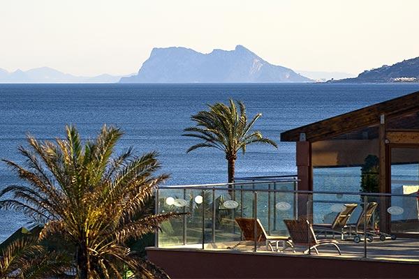 Vista panorámica desde el Hotel Elba Estepona
