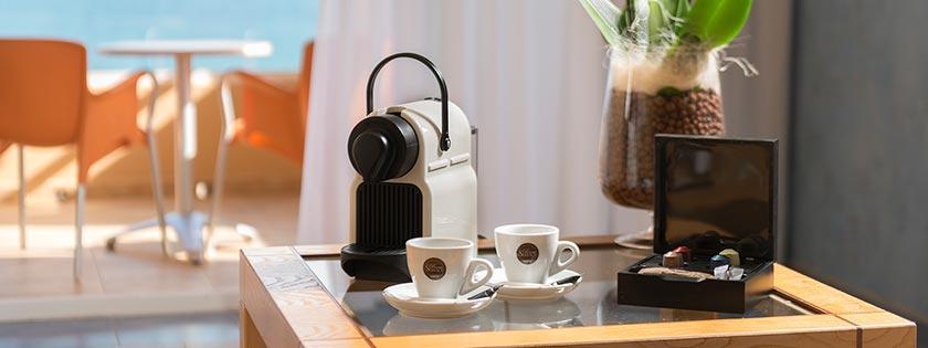 Cafetera expresso habitación doble Prestige Elba Sara