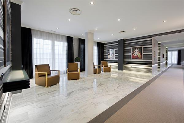 Interiores del Hotel Elba Motril