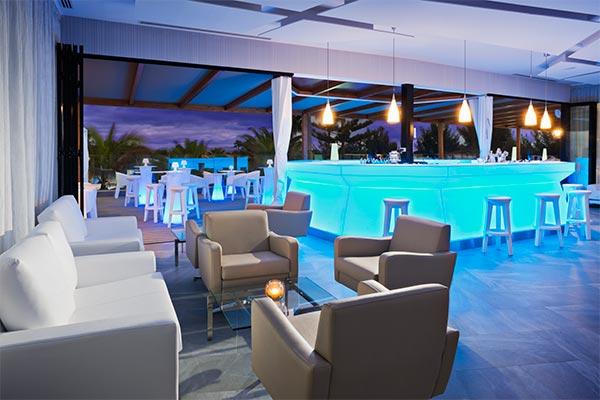 Interior del bar Mirador