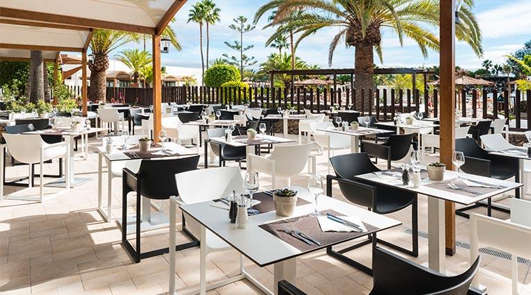 Terrasse - Restaurant Yaiza