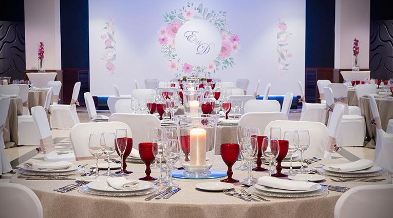 Salones para Banquetes | Elba Madrid