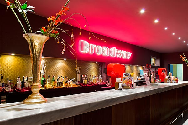 Barra del bar Broadway