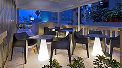 Terraza Lobby Bar hotel Elba Motril