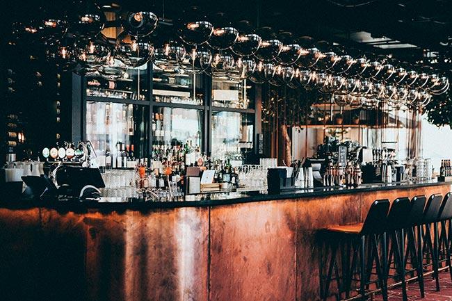 "Bares y restaurantes con carta de ""buenos momentos""."