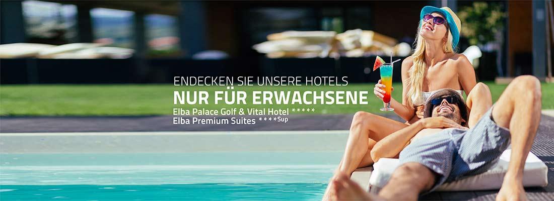 Hotels nur für Erwachsene - Elba Hotels