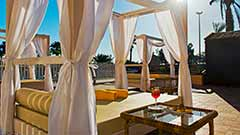 Adults swmming-pool & Balinese style beds Elba Premium Suites