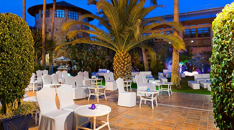 Área chill-out Hotel Elba Estepona