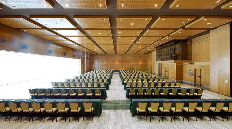 Vista de salón para conferencias