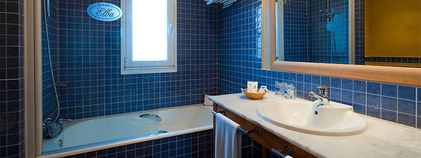 Cuarto de Baño completo - Habitación doble