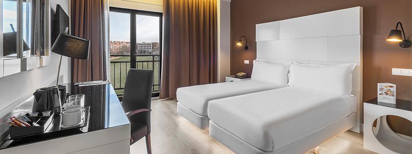 Vista general Habitación Doble Elba | Hotel Elba Madrid Alcalá