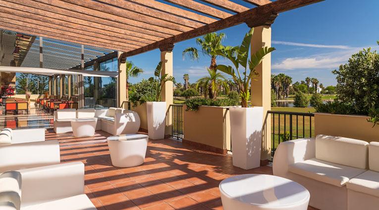 Terraza Lobby Bar Elba Costa Ballena