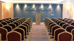 Vista salón de convenciones