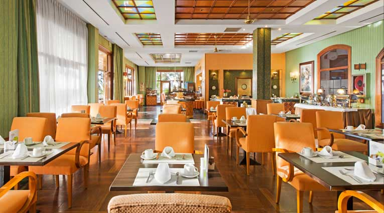 Vista Cafetería Hoyo 19