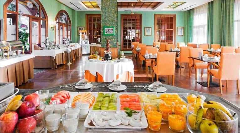Buffet desayuno saludable