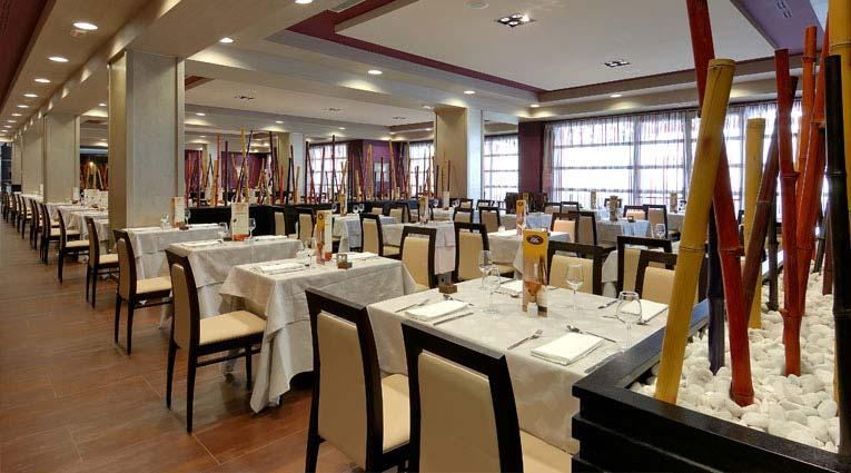 Vista comedor Restaurante buffet Tindaya