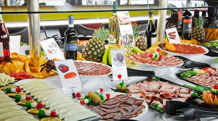 Embutidos buffet gastronomía Elba Sara