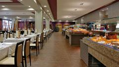 Delicioso buffet en el Restaurante Tindaya